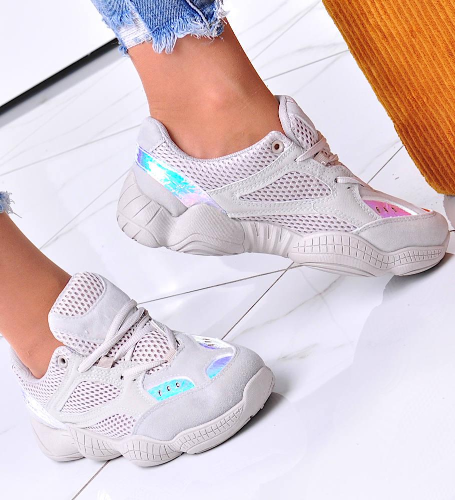 Wygodne Sportowe Buty Damskie Bezowe G5 3 4195 S170 Pantofelek24 Pl