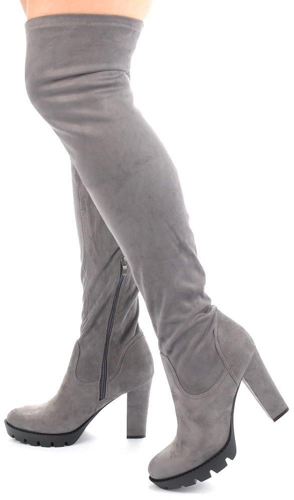 0fedbccca0785 Kozaki za kolano – efektowne i modne | Sklep online Pantofelek24.pl