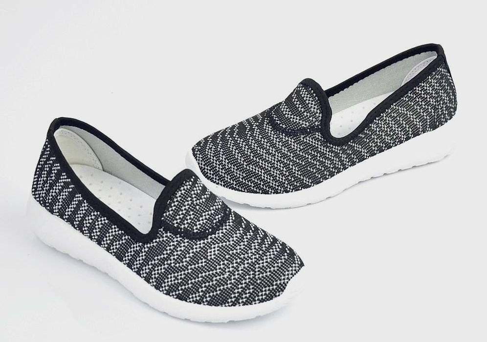 58b076a1 Wkładane buty sportowe /B5-3 Ae353 S121/ Black | Pantofelek24.pl
