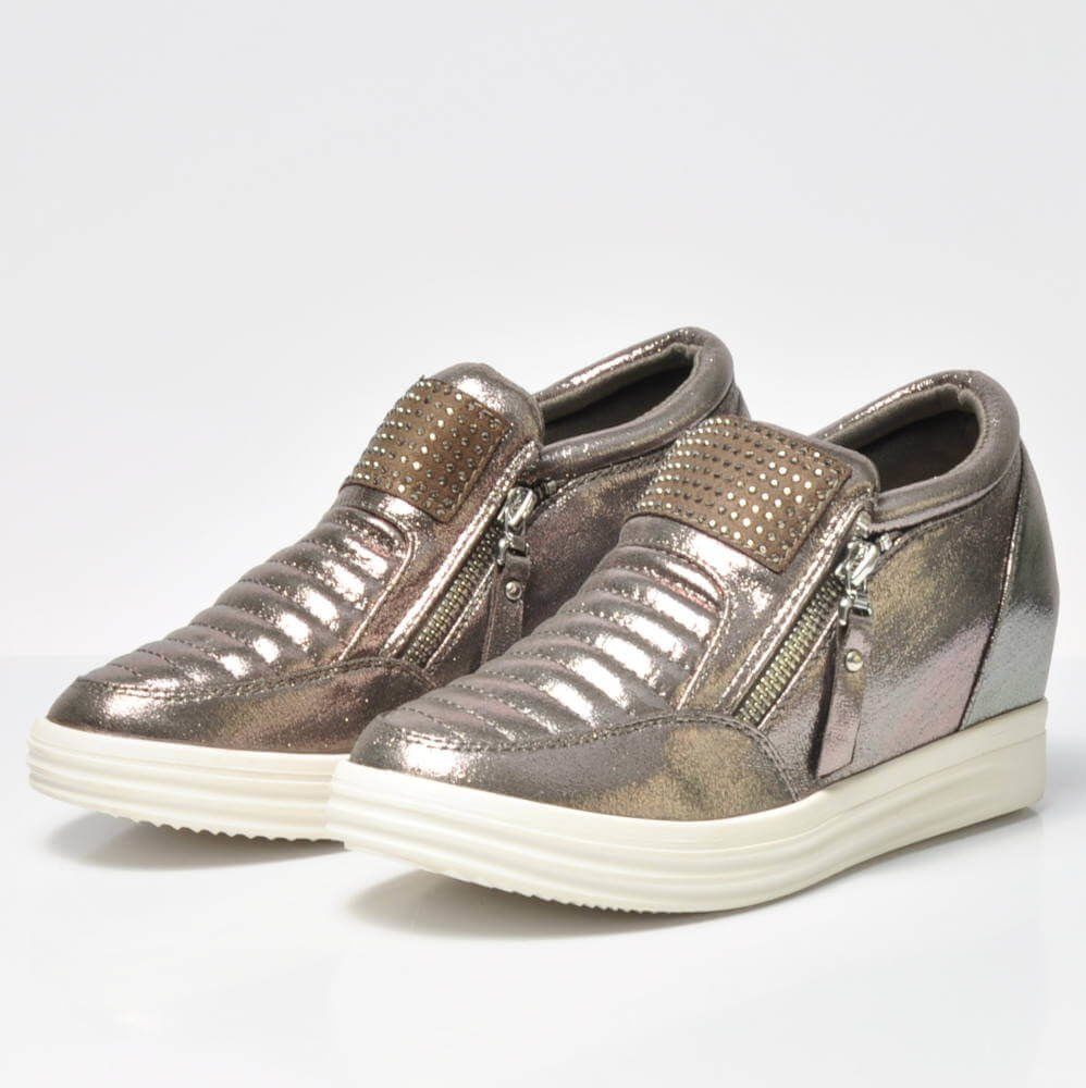 buty sportowe na koturnie damskie