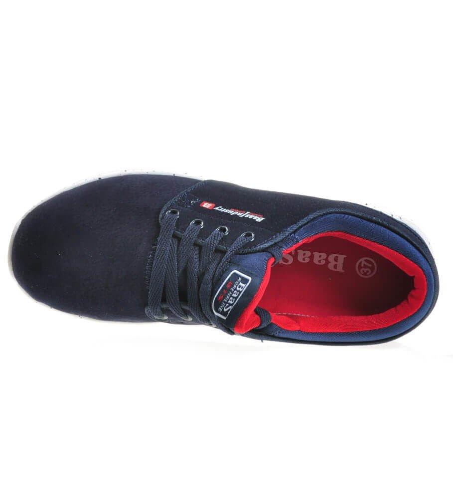 Wygodne buty sportowe damskie GRANATOWE E7 1 4359 S179