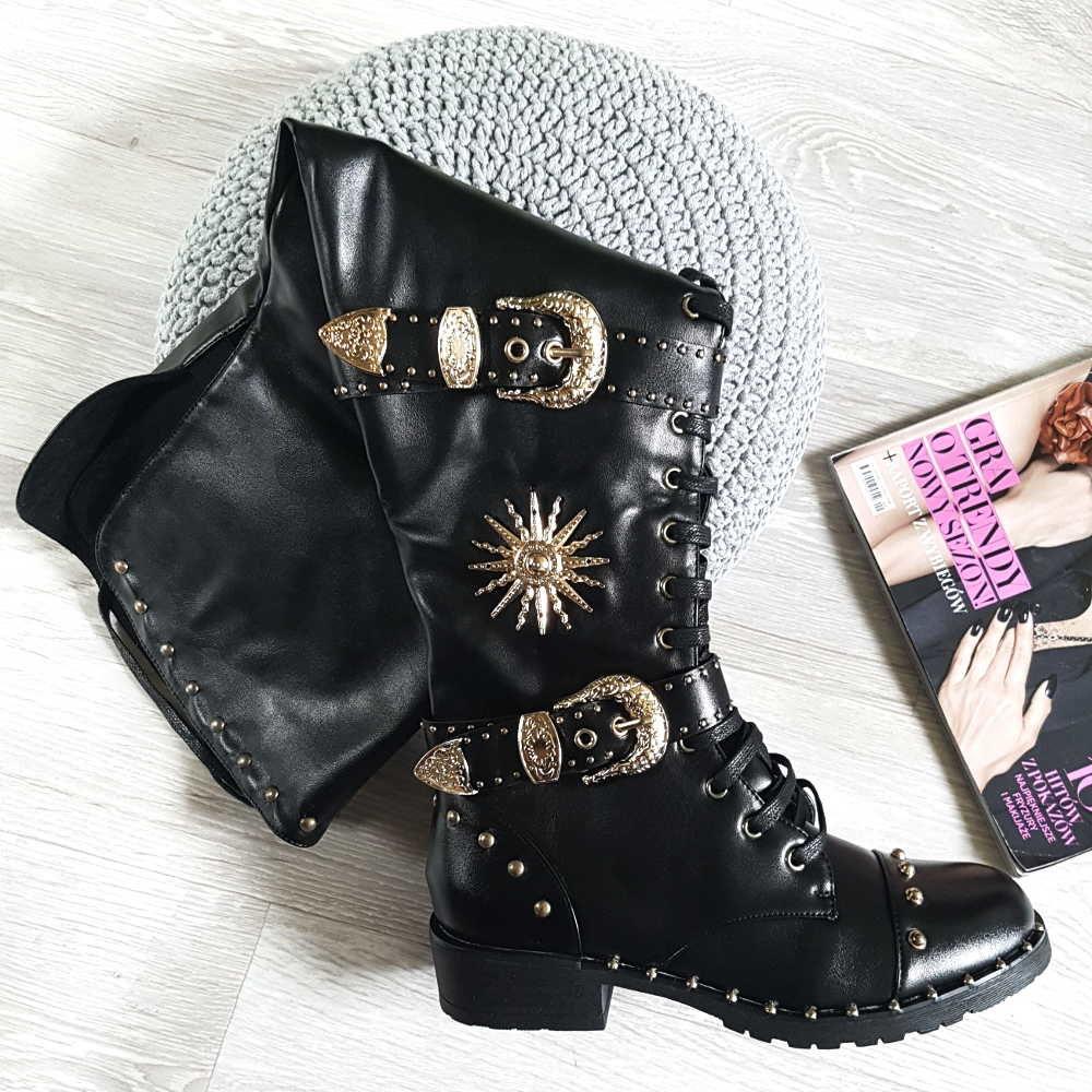 6b46bcee Pantofelek24 ma w swojej ofercie kozaki i botki w oryginalnej odsłonie, w  których każda pani poczuje się jak gwiazda rocka!