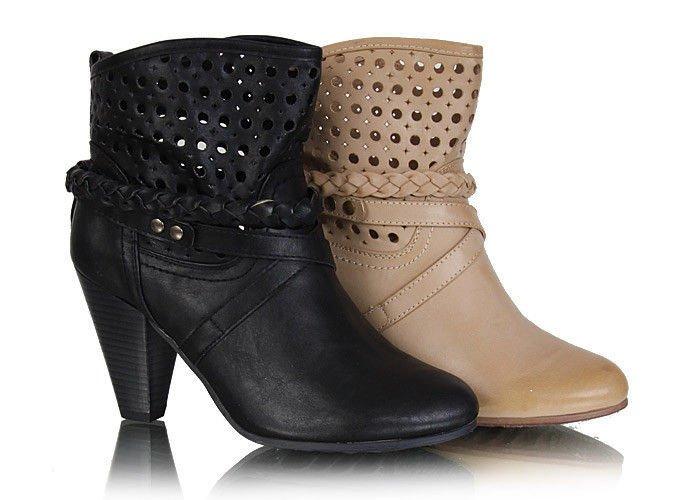 męskie buty kowbojki z płaskim czubem