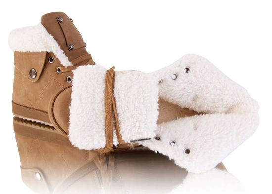 Ocieplane military boots Sztyblety h31 25camel