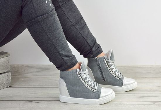 Buty sneakersy /F9-3 Ae199 S421/ Grey2