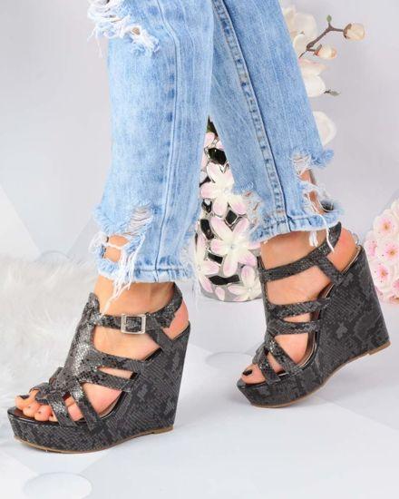 c8b8dcbf Damskie buty na platformie➤ Sklep online z butami Pantofelek24.pl #3