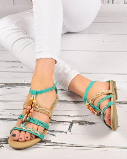 76088d8ba5b53a Pozostałe sandały damskie na lato - Sklep online Pantofelek24.pl