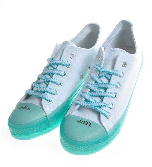 Miętowe buty | sklep z butami online Pantofelek24.pl