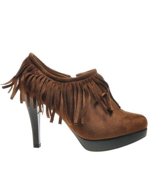 Outlet Brązowe, czarne modne buty damskie skórzane kup